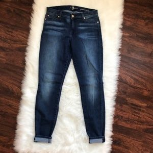 7 For All Mankind - The Gwenevere Skinny Jean 28